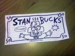 Gravity Falls - 50 Stan Bucks by Malleys