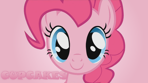 Pinkie Pie Cupcakes Wallpaper by John-D-Brimhower