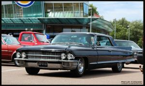 1962 Cadillac Coupe De Ville by compaan-art