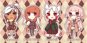 ADOPTABLES all taken! by niaro