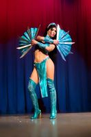 Kitana cosplay Mortal Kombat by Nemu013