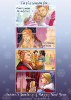 DAO and 2 - Season's Greetings by aimo