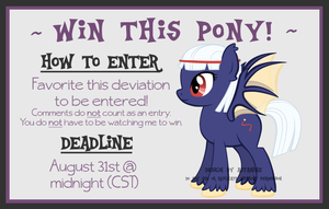 August's Giveaway by Astanine
