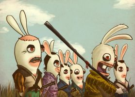 Rabbids can't save peasants.. by Mercurio2539