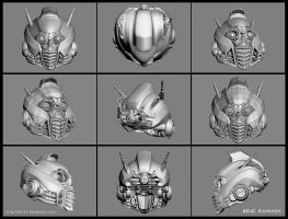 Wip Head mesh file finish by D3r3x