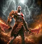 God of War III- Kratos by andyparkart
