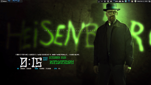 Heisenberg Conky . Breaking Bad final episode. by speedracker