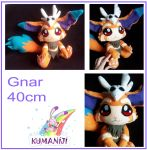 Gnar plush comission by chocoloverx3
