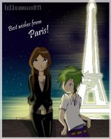 Greetings from paris by jojorules911