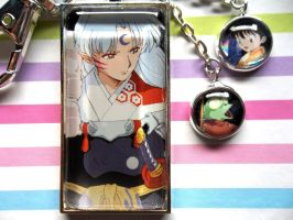 Three's Company - Sesshomaru, Rin, and Jaken too! by BlackManaBurning