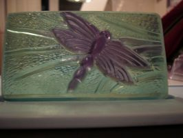 Dragonfly Soap by butterflypromqueen