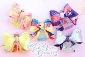 NEW My Little Pony Kawaii Bow Necklaces by IvrinielsArtNCosplay