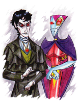 Barnabas Collins meets NOS-4-A2 by PurpleRAGE9205