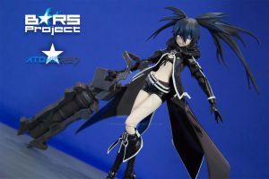 Black Rock Shooter H by fearangel014