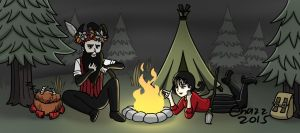 Don't Starve Together - A Night at the Campfire by chazzpineda