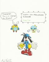 Happy 15th Anniversary Klonoa! by AndyCat90