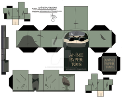 SHINO ABURAME NARUTO CUBEE by animepapertoys