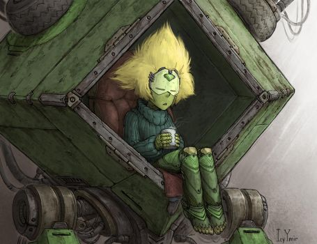 Peridot in Peribot by IcyYmir