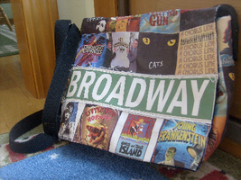 Broadway Bag by Tuxedo-Kitten