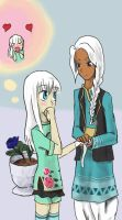 Yue and Sanjay by ForsytheFrontier