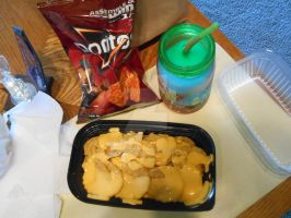 Nachos Slurpee and Doritos by SlinkySlinks