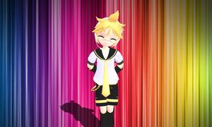 Chibi Len Edit Download by PrincessEve1