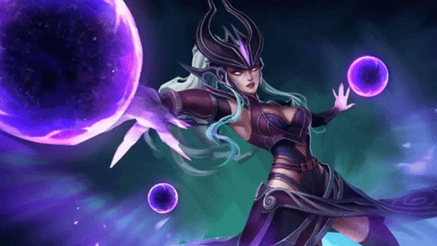 Animated Syndra Wallpaper by CJXander