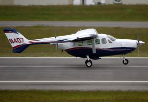 Cessna T-337 Takeoff by shelbs2