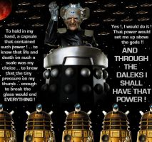 Doctor Who - Davros above the gods by DoctorWhoOne