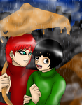 In the Rain-GaaLee by GaaraXLee