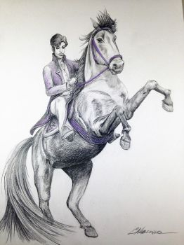 Kassy's Prince On A Horse by Clamdiggy