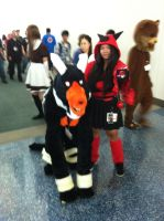 AX day 2 team magma by DrGengar