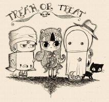 trick or treat by Lezzette