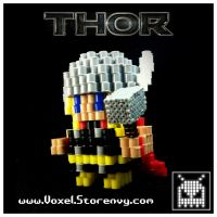 Thor by VoxelPerlers