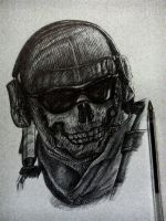 Incomplete Ghost from Cod MW2- part.4 by Musiriam