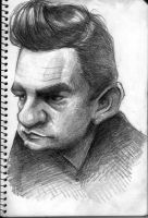 Johnny Cash by Parpa