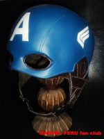 Captain America Helmet_08 by raultumba