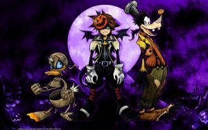 KH: Halloween Town 3 by AllenR