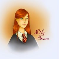 Lily Evans by shyangell