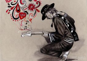 SRV Tribute by ZuzanaGyarfasova