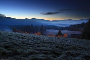 Blue Hour by FlorentCourty