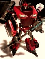 Transformers Prime Knockout Custom: Robot Mode 2 by FaintofHearts33