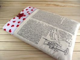 15 Inch Laptop Sleeve  The Brave Tin Soldier by LiliaVanini