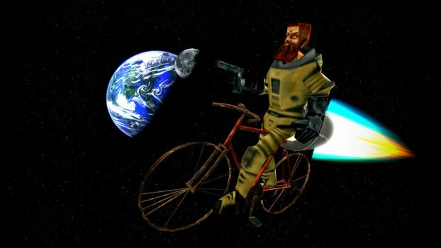 Ivan The Space Biker (Literally) by Qwerty-Cody