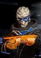 Garrus (Casual Outfit) by ammnra