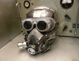 Dieselpunk Shock Trooper Mask MK II by Zilochius