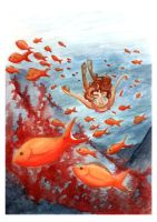 Under the sea by Lina17Inverse