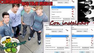 Cursores Big Time Rush II by Cursorsandmore