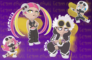 Team Skull by MevrouwRoze