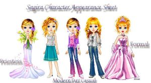 OC Reference Sheet by rosequartz